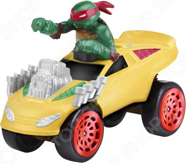 Машинка игрушечная с фигуркой Nickelodeon «Раф на боевом фургоне»