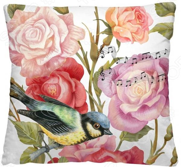 Подушка декоративная Волшебная ночь «Птица дивная»