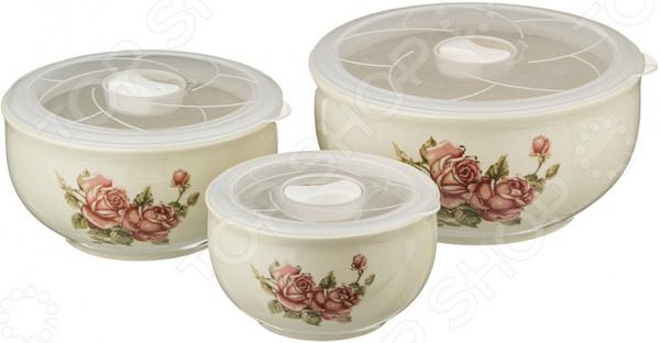 Набор блюд для заливного Lefard «Корейская роза» 388-210 полотенце для кухни арти м корейская роза