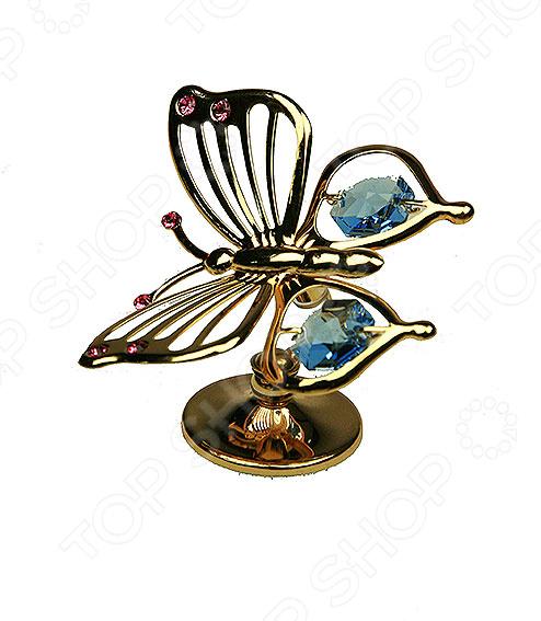 Фигурка декоративная Swarovski «Бабочка» 67723 с кристаллами