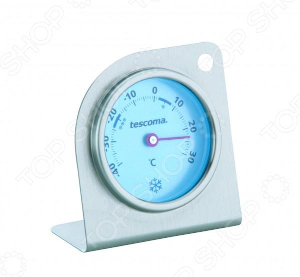 Термометр для холодильника и морозильника Tescoma Gradius предназначен для контроля за температурой хранения продуктов. Прибор выполнен из высококачественной нержавеющей стали и снабжен шкалой измерения от -40 до 30 C. Торговая марка Tescoma это синоним первоклассного качества и стильного современного дизайна. Компания занимается производством и продажей кухонных инструментов, аксессуаров, посуды и т.д. Функциональность, практичность и инновационные решения вот основные принципы торгового бренда Tescoma.