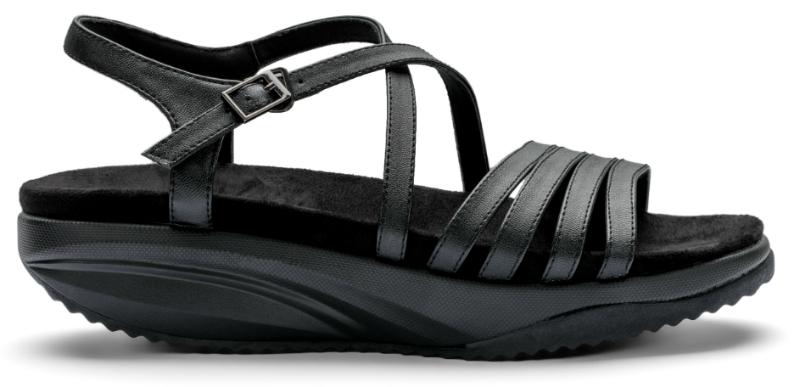 Сандалии дышащие Walkmaxx Pure Elegant 2.0. Цвет: черный 1