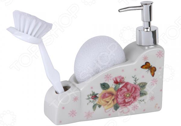 Дозатор для моющего средства Rosenberg RCE-335013 набор для ванной комнаты rosenberg rce 350004 3