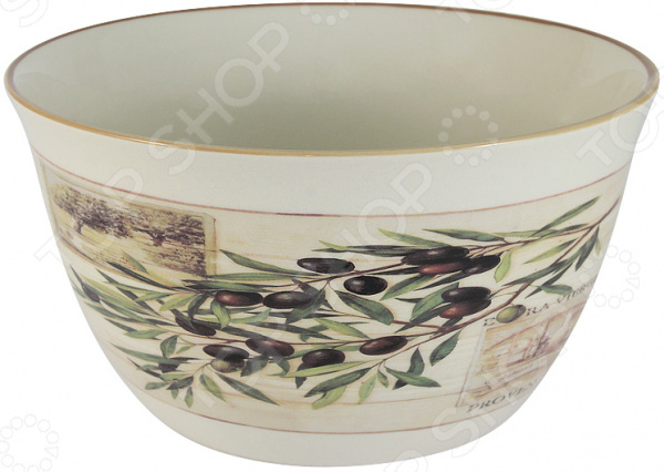 Салатник LF Ceramic «Оливки» кружка lf ceramic оливки 500 мл