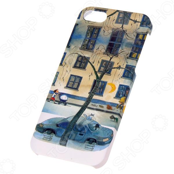 Чехол для iPhone 5 Mitya Veselkov Kafkafive-17 чехол для iphone 5 mitya veselkov kafkafive 17