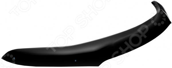 Дефлектор капота REIN Toyota Land Cruiser Prado 120, 2003-2009, внедорожник (ЕВРО-крепеж)
