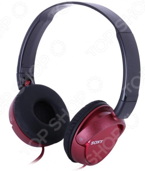 Наушники накладные Sony MDRZX310R.AE магнитый кабель ainy для sony xperia z1 z2 z3 фиолетовый