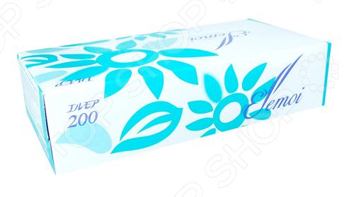 Фото - Салфетки бумажные двухслойные Kami Shodji Ellemoi 200 maneki салфетки бумажные dream двухслойные цвет голубой 200 шт