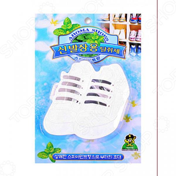 Поглотитель запахов для обуви Sandokkaebi «Мята» kobayashi поглотитель неприятных запахов для холодильника 162 г