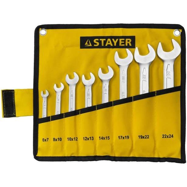 фото Набор ключей рожковых Stayer Profi 27035-H8
