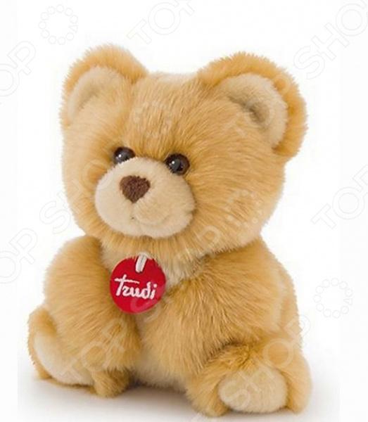 Мягкая игрушка Trudi «Медвеженок-пушистик» мягкая игрушка медвеженок тэди