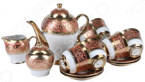 Чайный сервиз Rosenberg RPO-115031 Paradiso чайник заварочный rosenberg rpo 250017 l