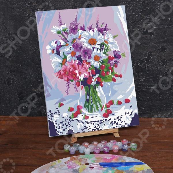 Картина по номерам Школа талантов «Весенний букет»