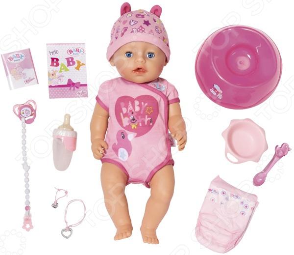 Пупс интерактивный Zapf Creation BABY born 825-938 simba пупс new born baby