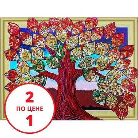 Купить Набор для творчества «Алмазная мозаика». Рисунок: «Денежное дерево»