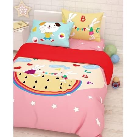 Купить Детский комплект постельного белья Сирень «Игры»