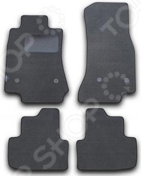 Cadillac ATS 2013. Цвет: серый Комплект ковриков в салон автомобиля Novline-Autofamily Cadillac ATS 2013 седан. Цвет: серый
