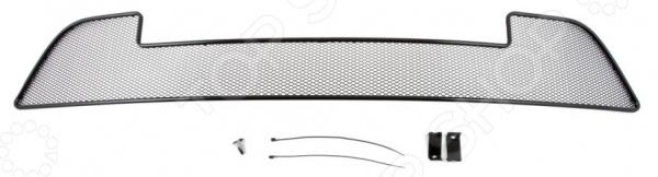 Сетка на бампер внешняя Arbori для LADA Granta лифтбек / седан, 2014. Цвет: черный