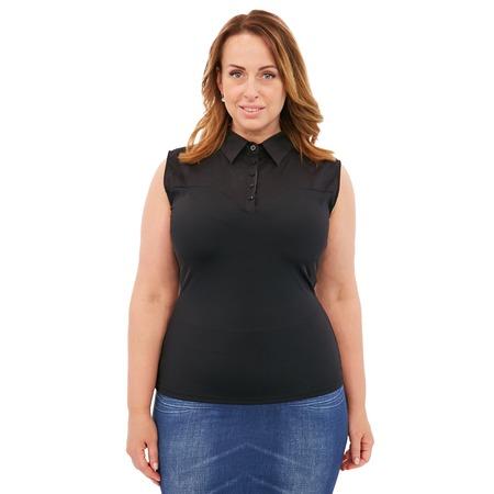 Купить Блуза Laura Amatti «Идеальный силуэт». Цвет: черный
