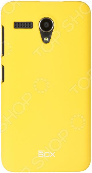 Чехол защитный skinBOX Lenovo A606 чехлы для телефонов skinbox накладка для lenovo vibe c skinbox серия 4people защитная пленка в комплекте