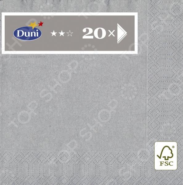 Салфетки бумажные Duni 105805