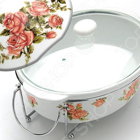 Мармит Mayer&Boch «Розы» 24220 mayer boch мармит керам 2 свечи 2 3л розы мв