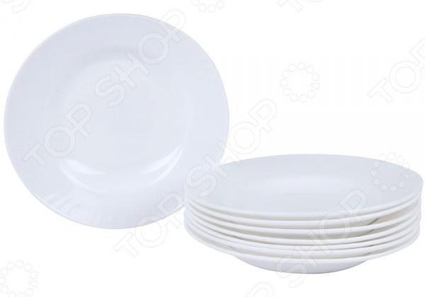 Набор суповых тарелок Rosenberg RGC-325005 набор суповых тарелок rosenberg rgc 325004