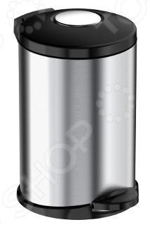 Ведро для мусора Meliconi «Стиль: Матовый стальной»