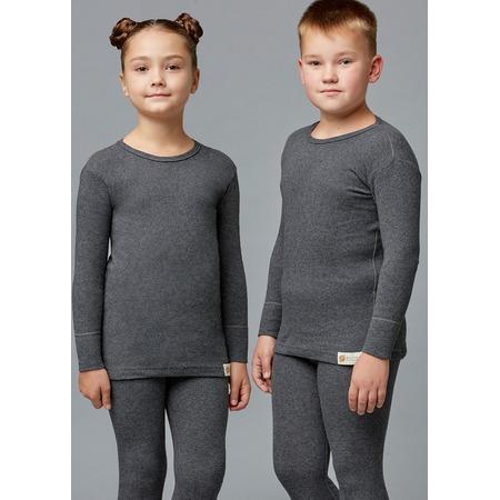 Купить Лонгслив детский «Ангора» 1723331. Цвет: серый