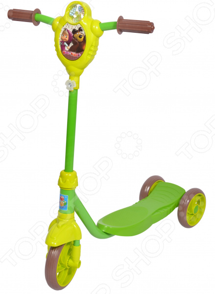 Самокат трехколесный 1 Toy «Маша и Медведь» Самокат трехколесный 1 Toy «Маша и Медведь» /