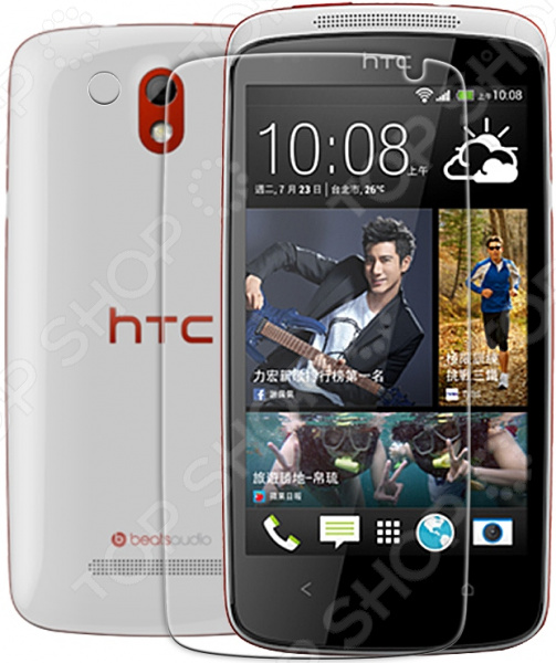 Пленка защитная Nillkin HTC Desire 500/Desire 506E защитная пленка для мобильных телефонов snda htc desire d516w 516t d316d htcd316d