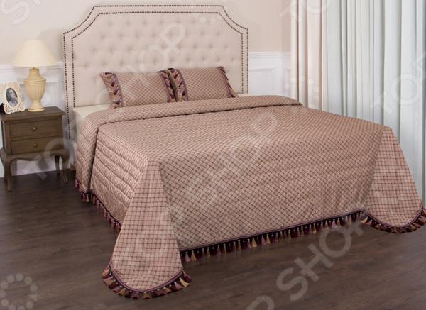 Комплект для спальни: покрывало и наволочки Santalino «Палаццо» 850-900-15 для спальни