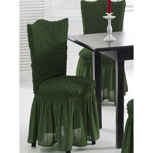 фото Натяжные чехлы на стулья Karbeltex