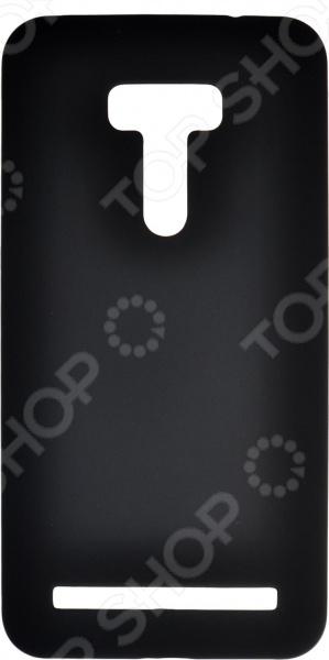 Чехол защитный skinBOX ASUS ZenFone Selfie ZD551KL аксессуар защитная пленка asus zenfone live zb553kl luxcase суперпрозрачная 55823