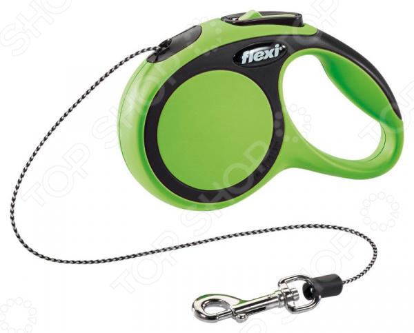Поводок-рулетка Flexi New Comfort XS. Тип поводка: трос