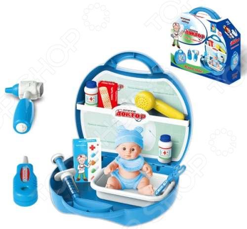 Игровой набор для ребенка 1 Toy в чемоданчике «Профи. Доктор» игровой набор polesie маленькая принцесса 1 в чемоданчике