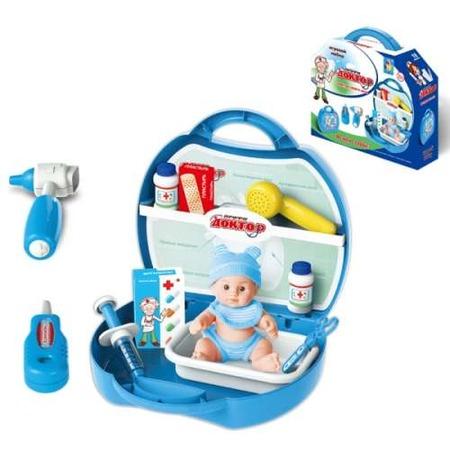 Купить Игровой набор для ребенка 1 Toy в чемоданчике «Профи. Доктор»