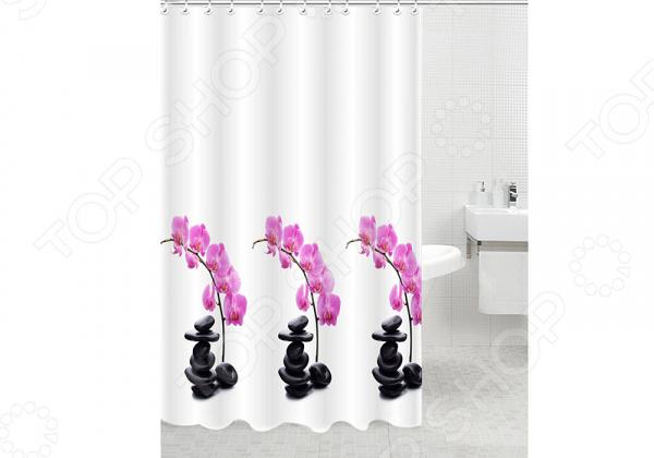 Штора для ванной комнаты RPE-730003