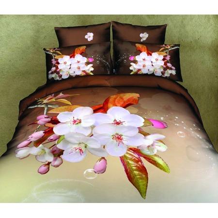 Купить Комплект постельного белья Mango «Цветы» 699. 2-спальный