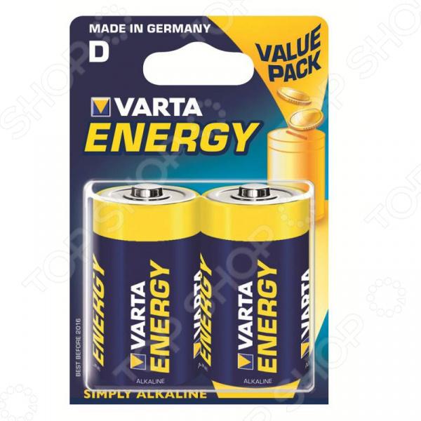 Элемент питания VARTA Energy D 2 шт. прочее