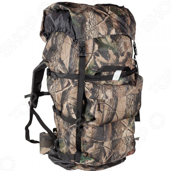 Рюкзак для охоты и рыбалки Huntsman «Пикбастон» №100. Рисунок: лес