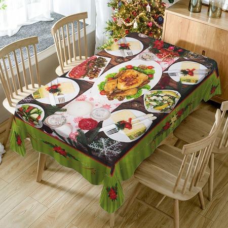 Купить Скатерть ТамиТекс «Праздничный ужин 1»