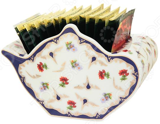 Подставка сервировочная под чайные пакетики Elan Gallery «Цветочек» подставки под пакетики nuova r2s подставки под пакетики