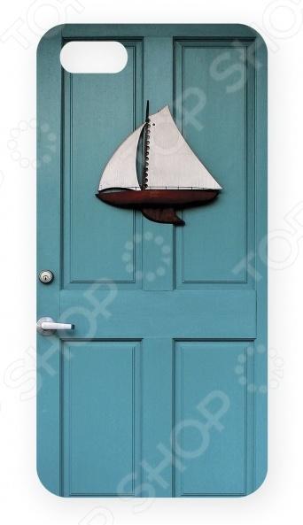 Чехол для IPhone 5 Mitya Veselkov «Голубая дверь»
