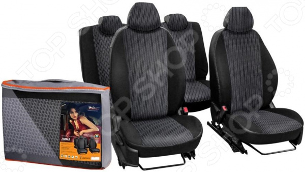 Набор чехлов для сидений Airline Hyundai Solaris / KIA Rio, 2011, «Лима» kia sorenyo 3 ряд сидений отдельно
