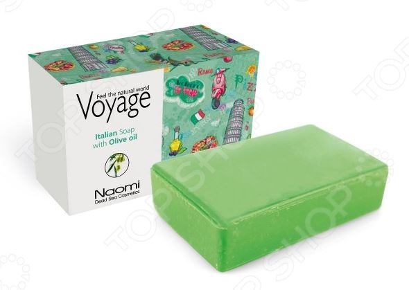Мыло косметическое Bradex Voyage. Italian Soap With Olive Oil traser tr 106631