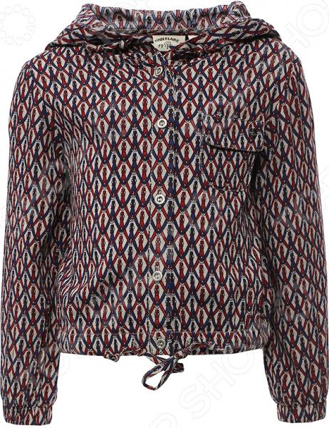 Куртка для девочки Finn Flare Kids KS16-71056. Цвет: светло-бежевый finn flare куртка для девочки