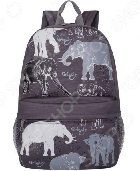 Рюкзак молодежный Grizzly RL-855-4/2
