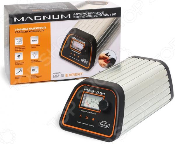Устройство зарядное для АКБ НПП «Оборонприбор» MAGNUM MM-18 EXPERT автомобильные зарядные устройства magnum зарядное устройство для автомобильных аккумуляторов magnum sa 8 pioneer