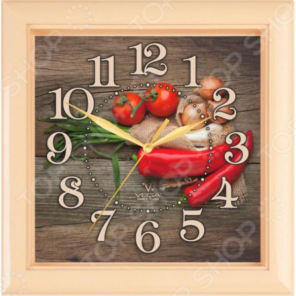 Часы настенные Вега П 3-14-133 «Перчик»
